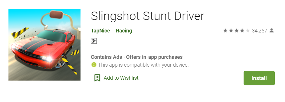 Slingshot Stunt Driver for Mac