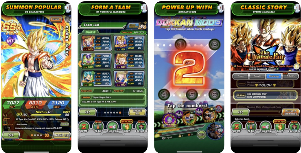 Dragon Ball Z Dokkan app download
